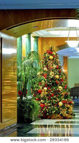 Weihnachten-lobby