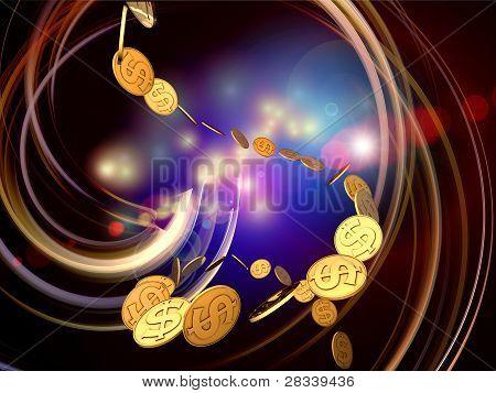 Dollar Swirl