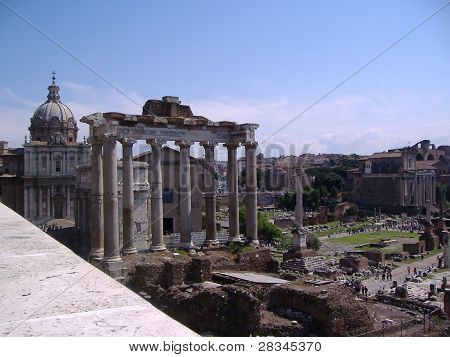 View of Fori Imperiali