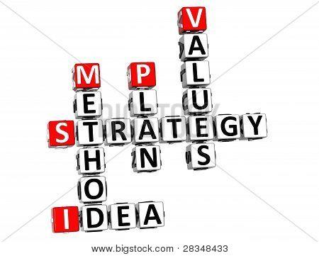 3D Career Strategy Crossword
