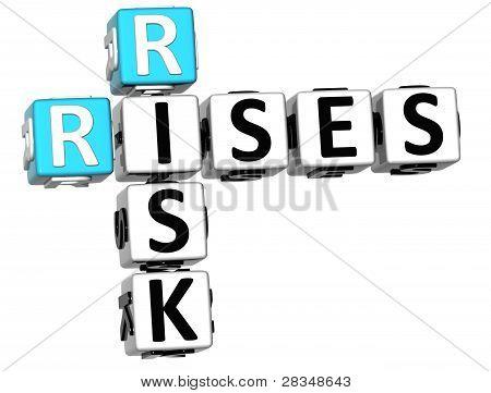 3D Rises Risk Crossword