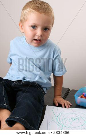 Beautiful Blond Boy