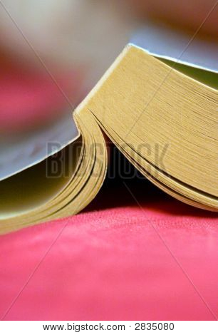 Book On Pink Sheets