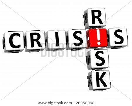 3D Crisis Risk Crossword