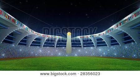 Stadium Night Time