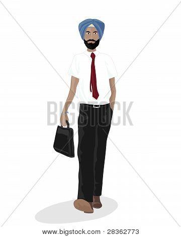Sikh Businessman