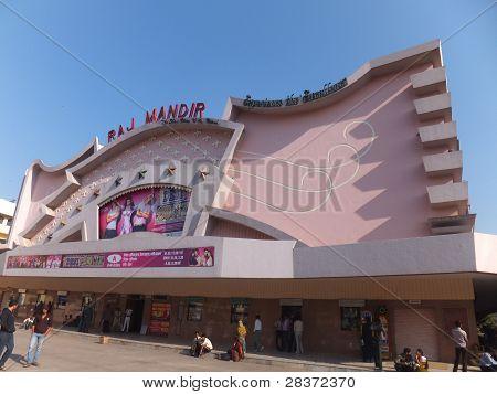Raj Mandir Cinema in Jaipur, India