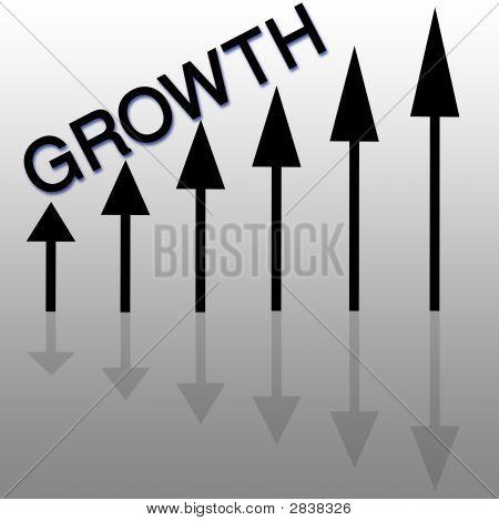 Flechas de crecimiento