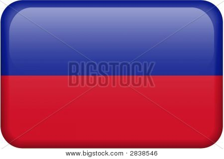 Haiti Flag Button