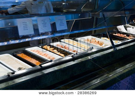 Self-service Buffet With Hot Breakfast