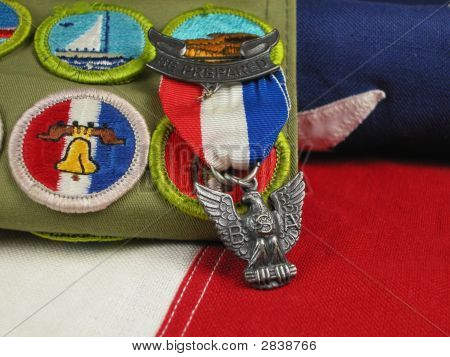 Eagle Scout Award-On Bandalo