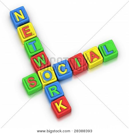 Crossword Puzzle : Social Network