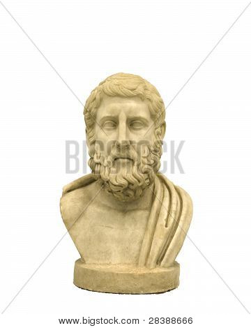Hermarchus, Marble portrait