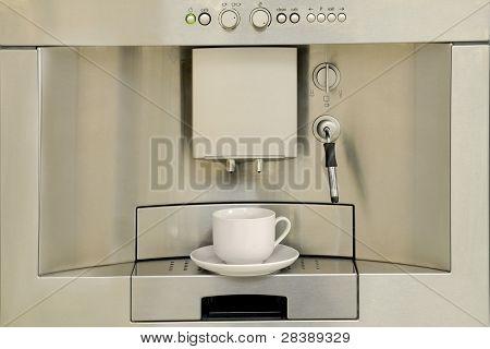 moderne Kaffeemaschine