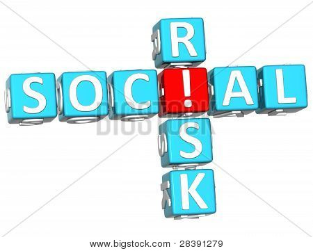 3D Social Risk Crossword
