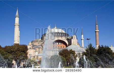 Hagia Sophia, Istanbul Turkey.