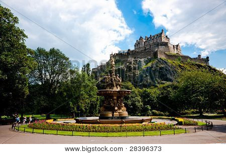 The Ross Fountain, Princes Street, Edinburgh