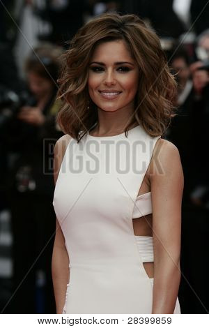 CANNES - MAY 21: Cheryl Cole at the 'Outside The Law' Hors La Loi premiere at the 63rd Cannes Film Festival on  May 21, 2010 in Cannes, France