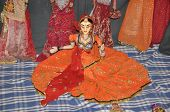 pic of rajasthani  - Rajasthani Puppet Dance from Rajasthan in India - JPG