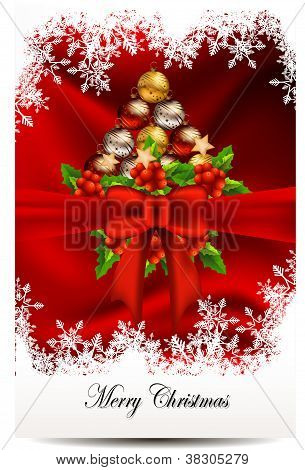 beauty christmas card background