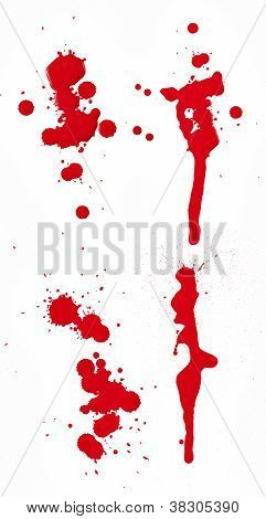 Blood Spatter 1