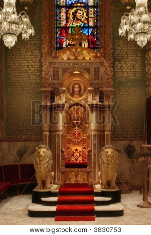 Throne In Cathedral