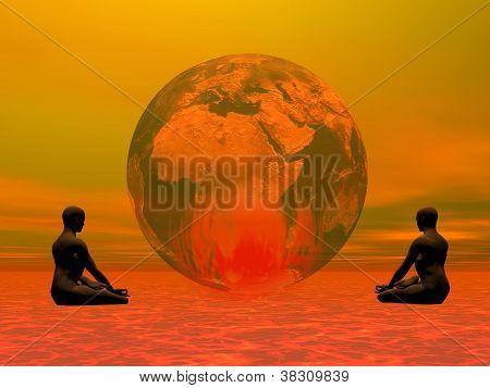 Meditation For Burning Earth