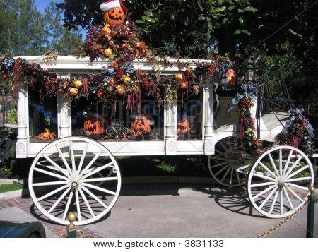 Halloween Hearse