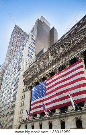 Bolsa de valores de Nueva York, Wall Street, New York City