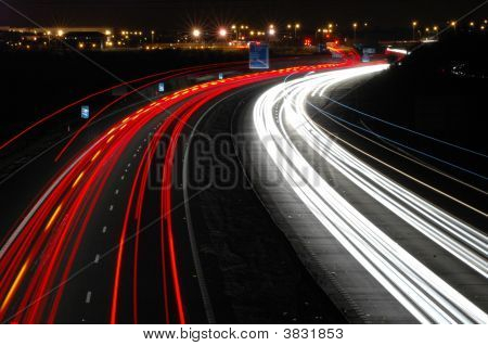 Motorway Light Trail