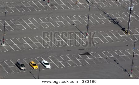 Almost Empty Parking Lot