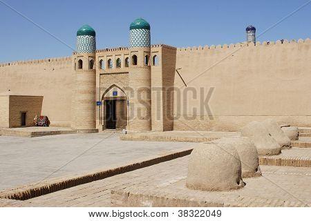 Citadel, Khiva, Silk Road, Uzbekistan