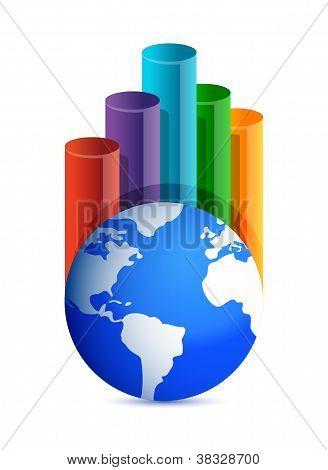 Globe Business Graph