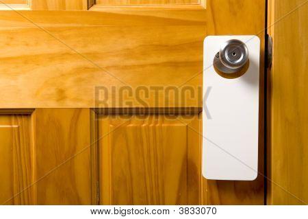 Blank Door Hanger
