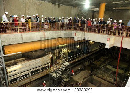 Works Inspection Of Subway Construction