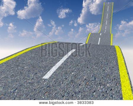 Caminho para os céus