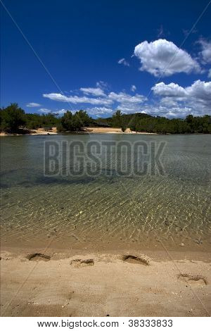 Footstep In Nosy Mamoko