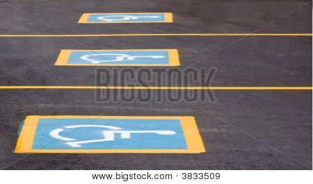 Handicapped Parking Only