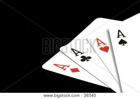 Aces On Black