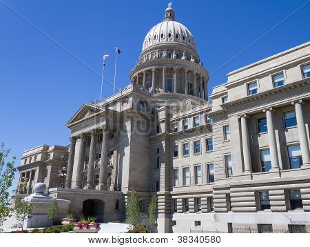 Boise State Capital Building