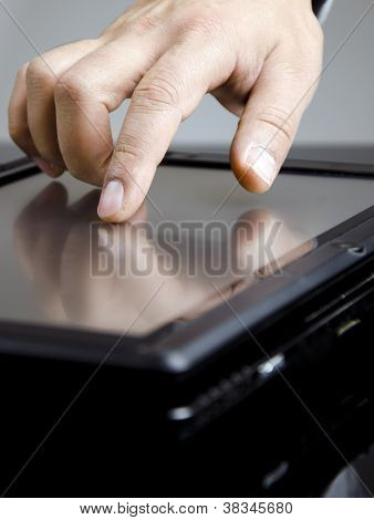 Working Men In Black Tablet Pc