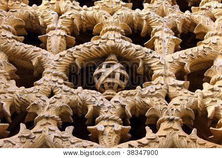 Armillary sphere at the Batalha Monastery, POrtugal
