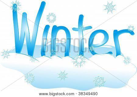 Winter written