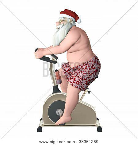 Santa Fitness - Stationary Bike Proile