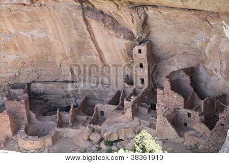 Mesa Verde National Park, Native American Cliff Dwellings, Colorado