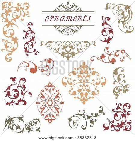 Victorian Scroll Ornaments