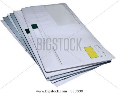 Envelopes Clipping Path