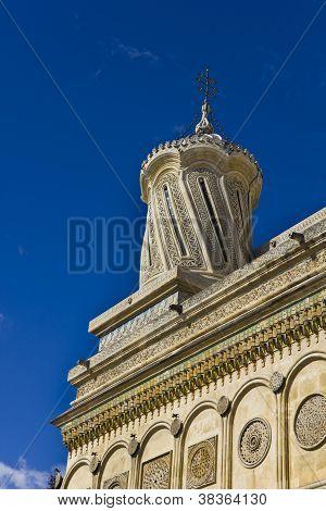 Tower of the Curtea de Arges Monastery