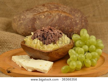Blood Sausage And Sauerkraut