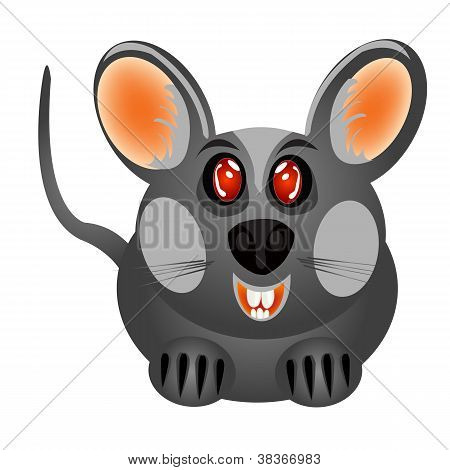 Small Gray Baby Mouse